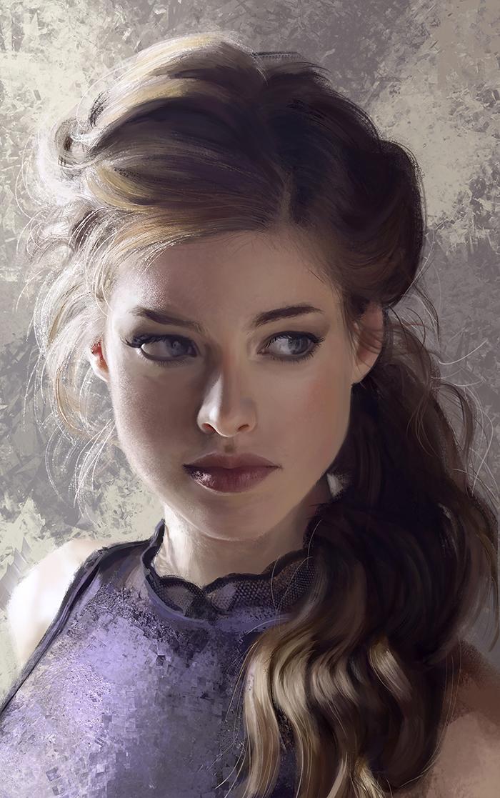 As ilustrações incríveis de Mandy Jurgens