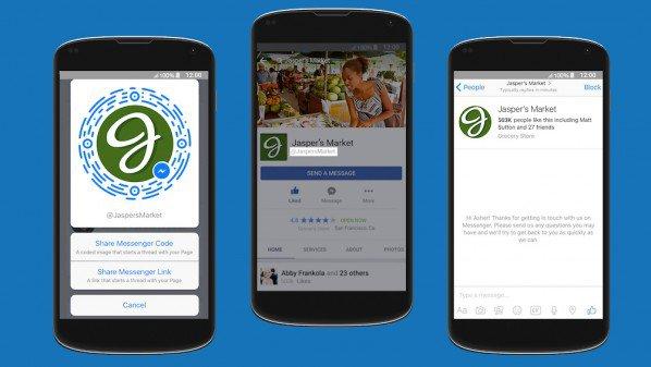 فيس بوك مسنجر بميزات جديدة لصفحات الأعمال