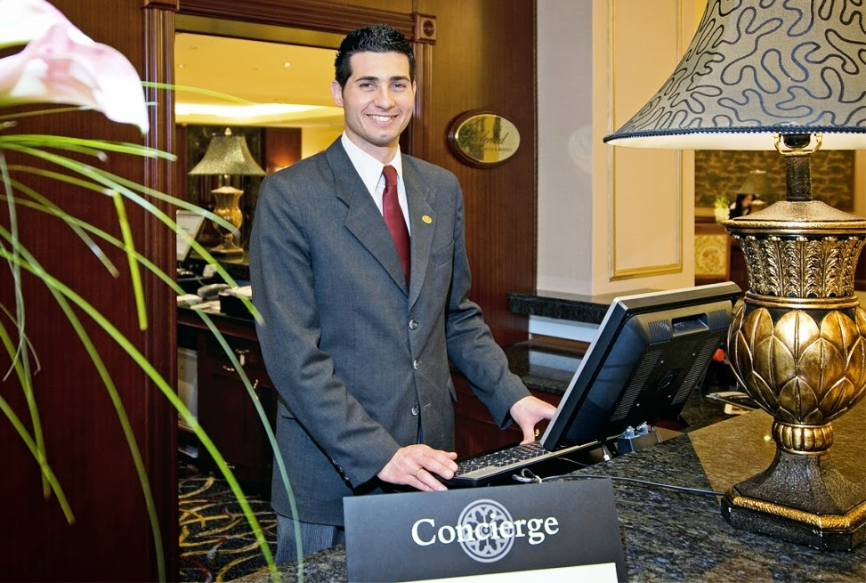 Concierge em Las Vegas