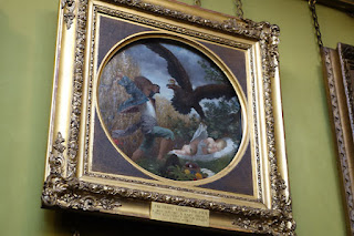 Leighton House Museum Art Studio London painting boy eagle