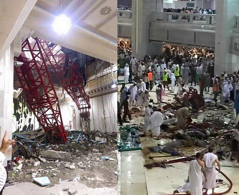mecca crane accident death toll