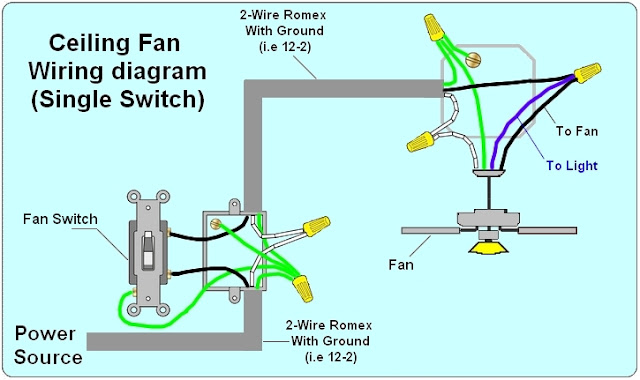 Way Light Switch Wiring Diagram | House Electrical Wiring Diagram