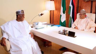 President Buhari Trekked After Sallah Today To Prove Tambuwal Wrong...Presidency