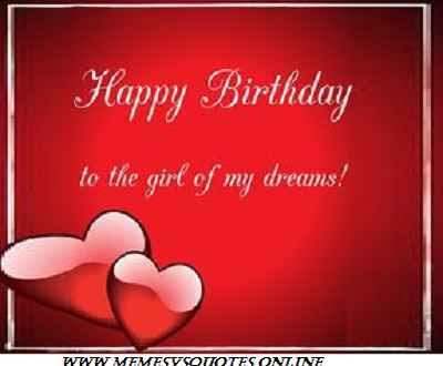Birhday wishes for girlfriend