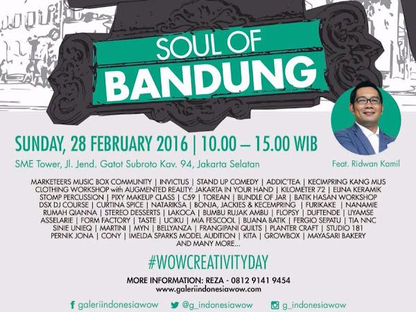 Soul Of Bandung di SMESCO Jakarta