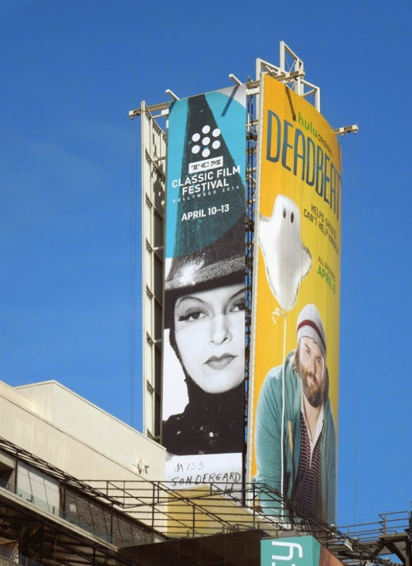 TCM Classic Film Festival 2014 Miss Sondergaard witch billboard