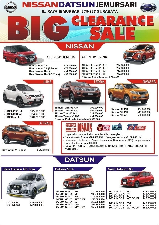 Dealer Nissan Surabaya Daftar Harga Otr Cash Dan Kredit Mobil Baru