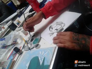 chicle artista urbano