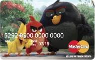 Cartão Angry Birds Acesso Card Pássaro Preto