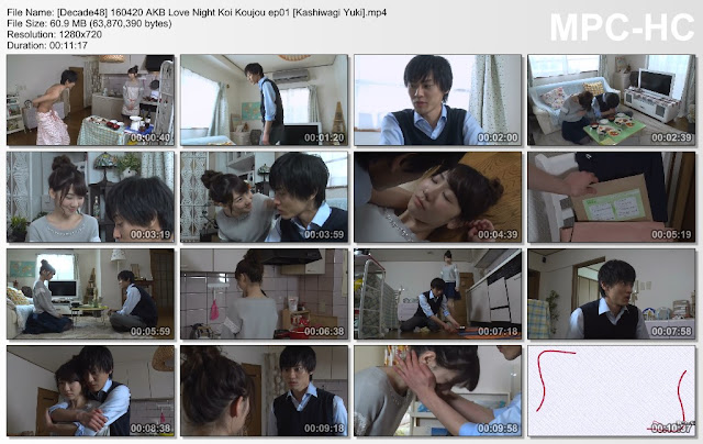 160420 AKB Love Night Koi Koujou ep01 (SUB INDO) [PaHe]