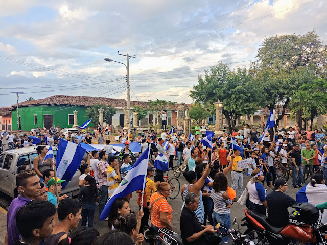 Manifestation à Granada