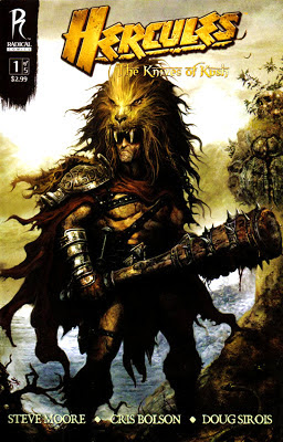 Hercules The Thracian Wars Comic Book Cover