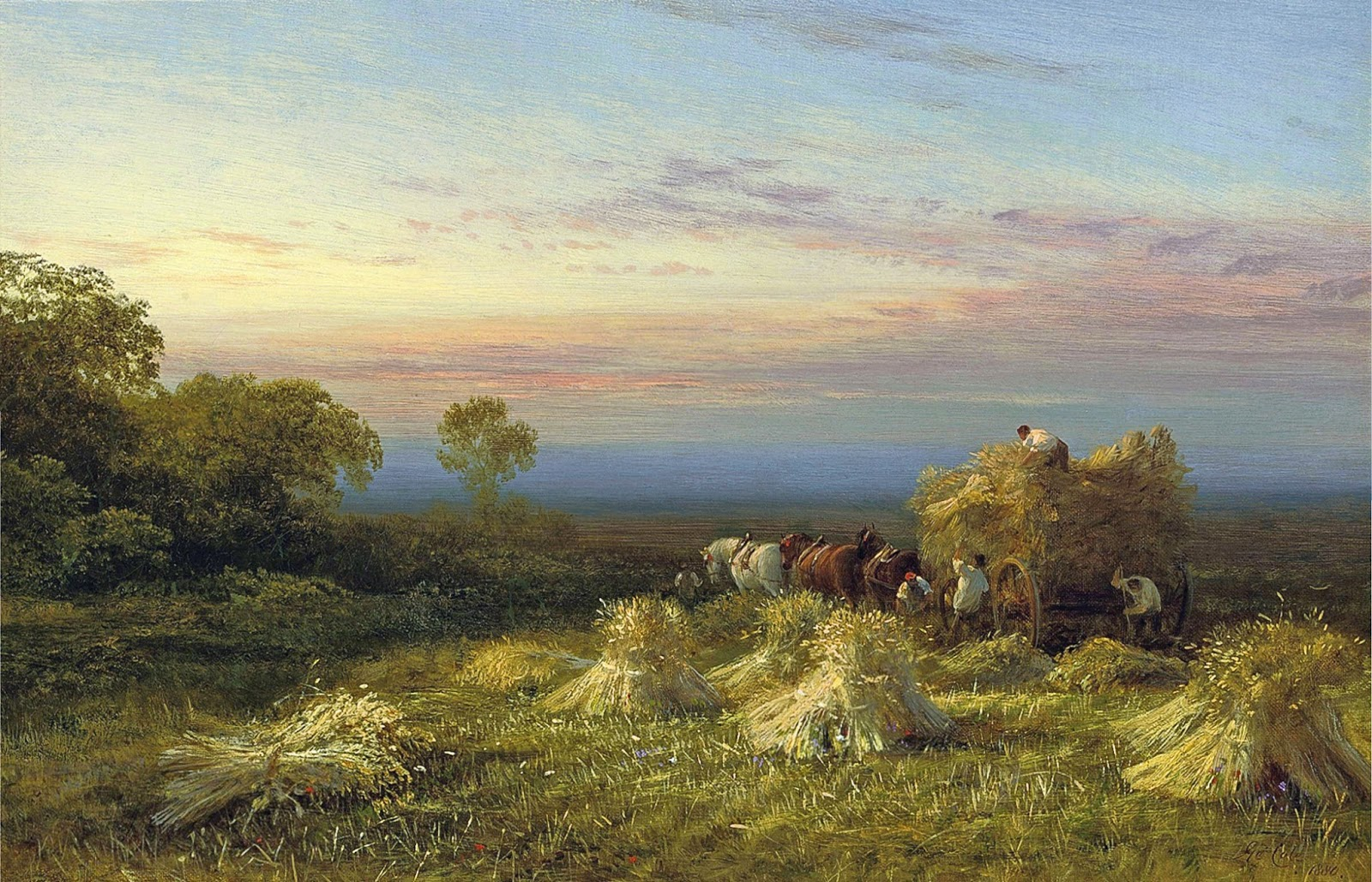 Cole At the End of the Day (1880) [this is a