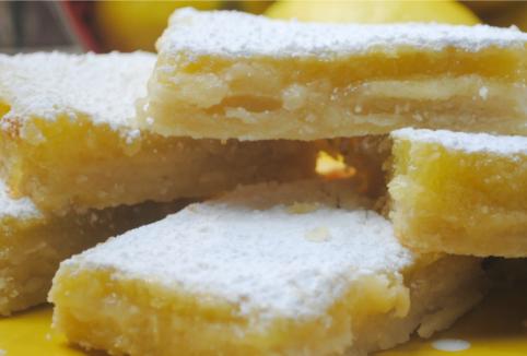 Old-Fashioned Lemon Bars #lemon #bars #dessert