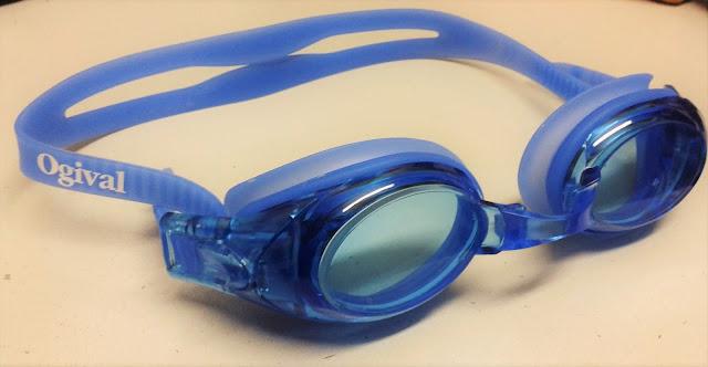 郑明析, 摄理, swimming goggles