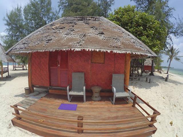 Kamar di White Sand Island Bintan