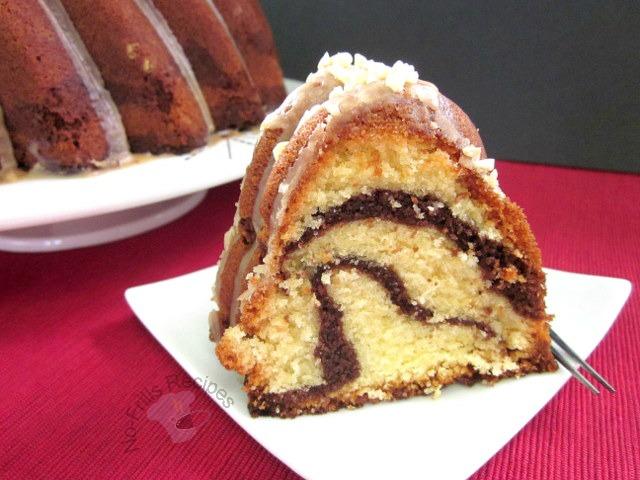 Kahlua Bundt Cake With Nuts