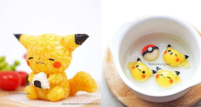 【 Pokémon 趣聞】超可愛的美食藝術 很想捕捉它