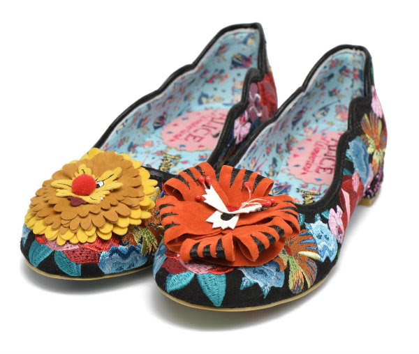 Irregular Choice Disney Alice In Wonderland talk to the flowers
