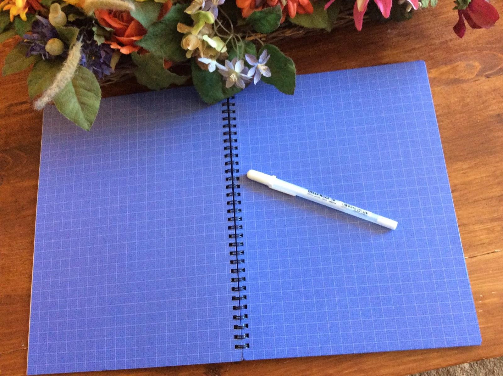 Heck Of A Bunch Blu Notebooks Blueprint Paper Notebook