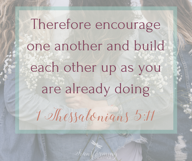 Christian Friendship, challenging times, Encouragement