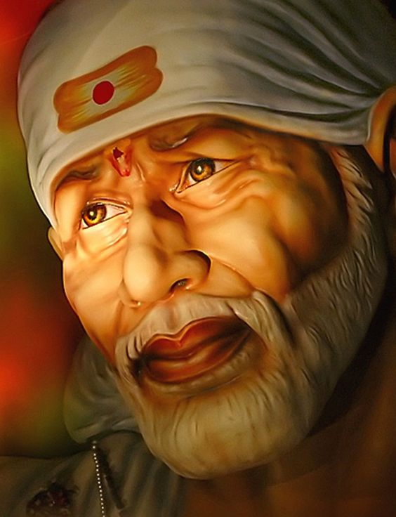 Sai Baba Image for Mobile