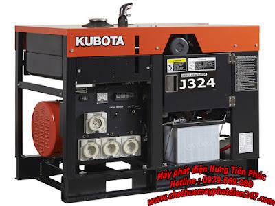 Máy phát điện Kubota 23.5kva J324