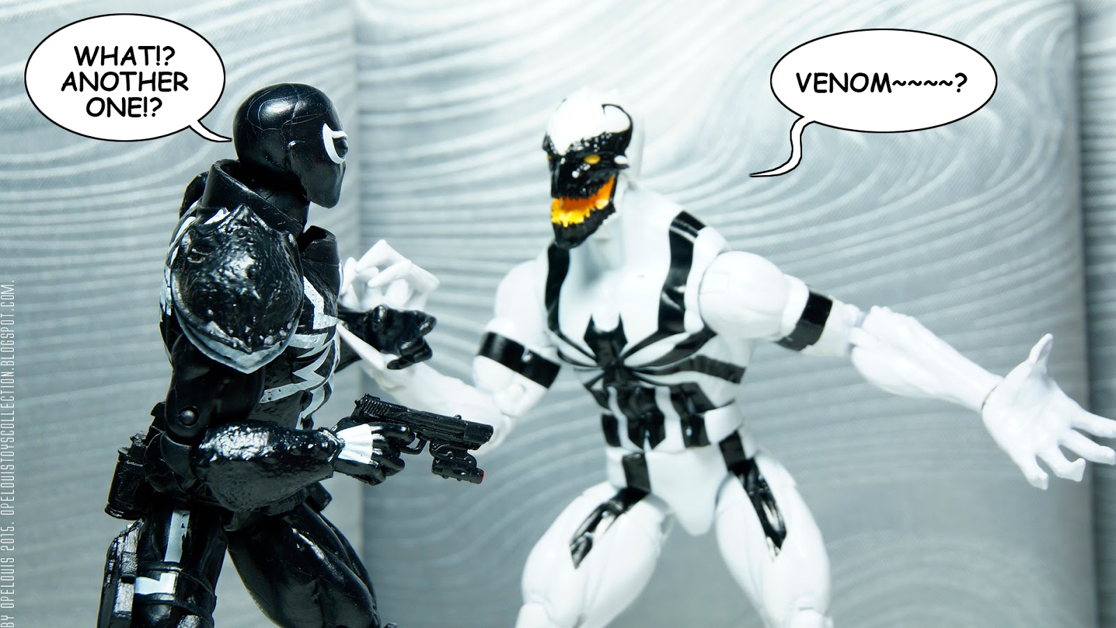 Opelouis's Toys Collection: Marvel Legend Symbiote Agent ...