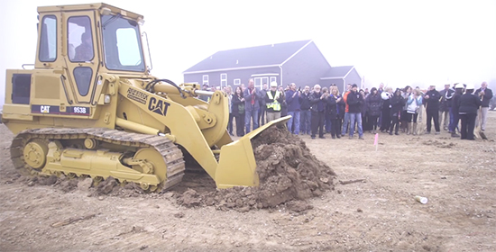 Groundbreaking for 2017 St. Louis St. Jude Dream Home