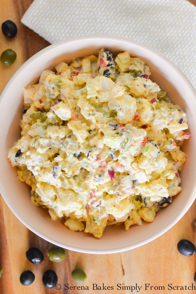 Ripe Olive Potato Salad