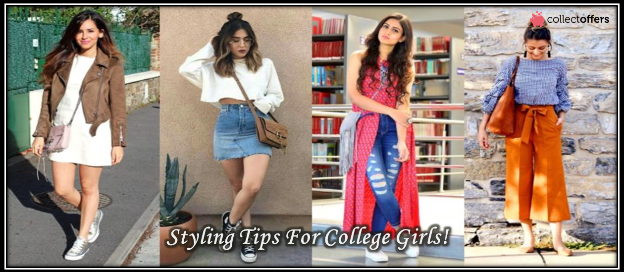 7 Styling tips Of Latest Fashion Trends For College Going Girls!