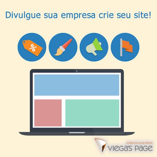 Divulgue sua empresa crie seu site!