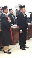 Gantikan HM. Syafi'i, Alfian Resmi Menjadi Wakil Ketua DPRD Kota Bima