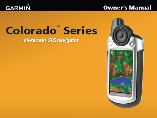 Garmin Colorado 300 Manual | Download Manual Pdf