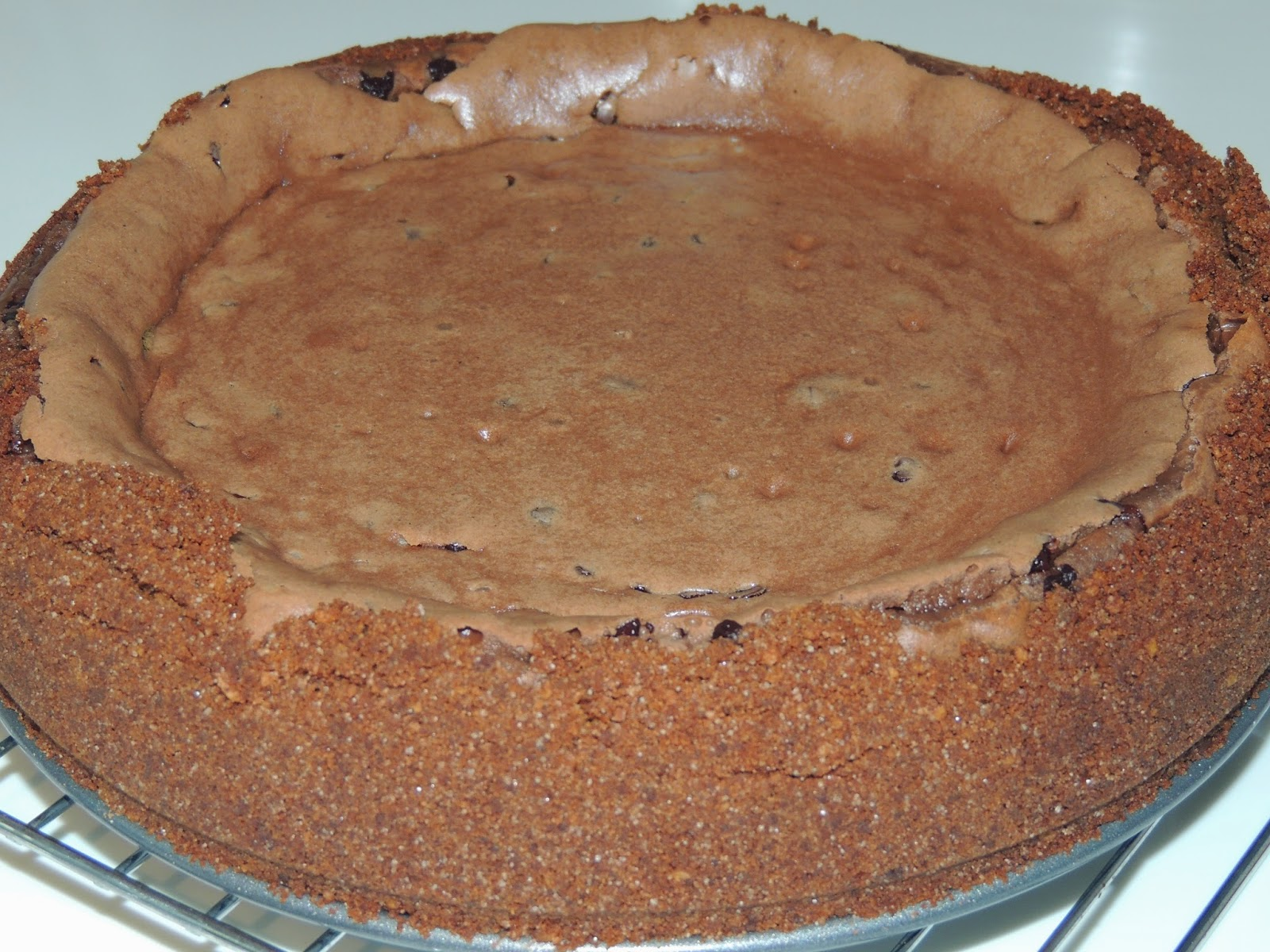 High calorie recipes chocolate chocolate chip cheesecake forumfinder Choice Image