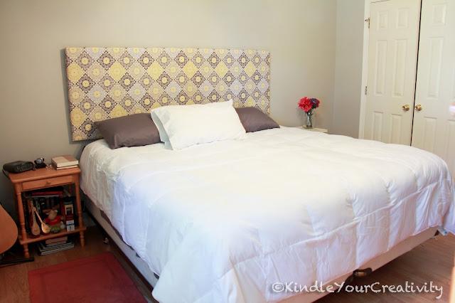 Testiere per il letto fai da te con materiali riciclati - Idee per testata letto ...
