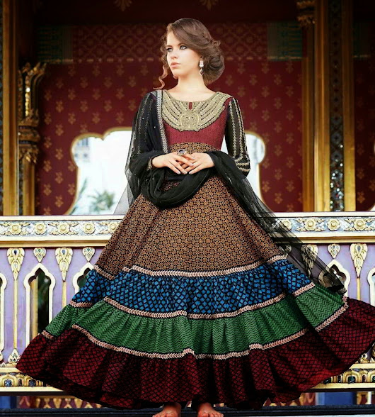 New Arrival Kalidar Suits For women 2014