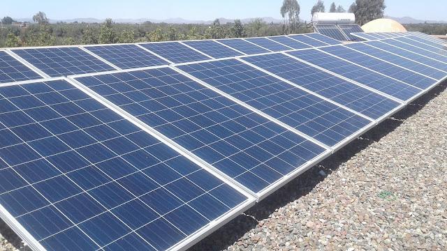 تجربة تشغيل منزل بالطاقة الشمسية نظام ثلاثي الاطوار 10 كيلوات 40 لوح