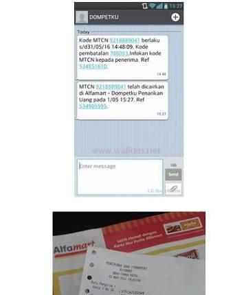 Cara Transfer tunai Lewat Indomaret / Alfamart | Kirim Uang Tanpa Atm