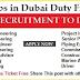 2000 Latest Vacancies in UAE Visa Ticket Free Apply Now