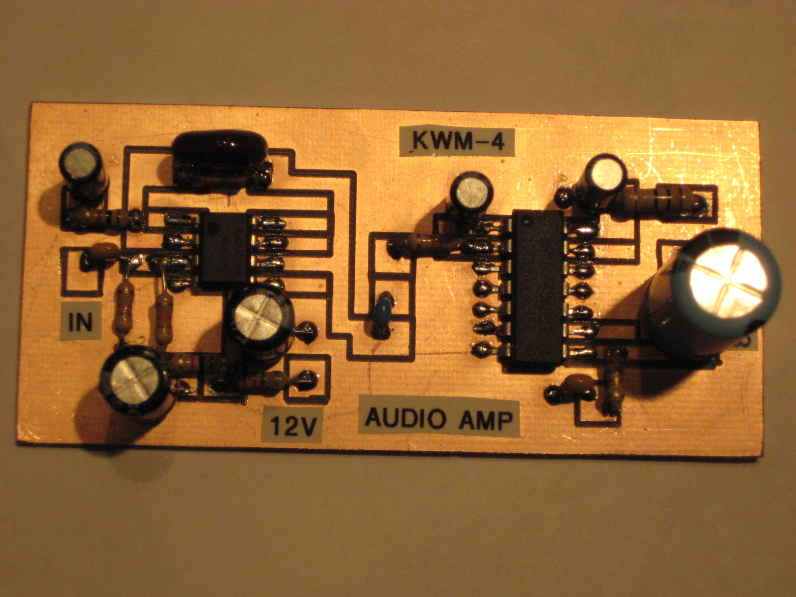 Simpleceiver Plus Amplifier Described Here Uses Two Small Amplifiers Like Lm380 Mounted I Got Overcome By Other Commitments On 8 22 And Today Does Not Look Any Better But Still Plan To Build A Version Of The 1st Amp Chunk