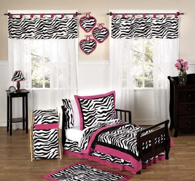 Queen Zebra Print Bedding