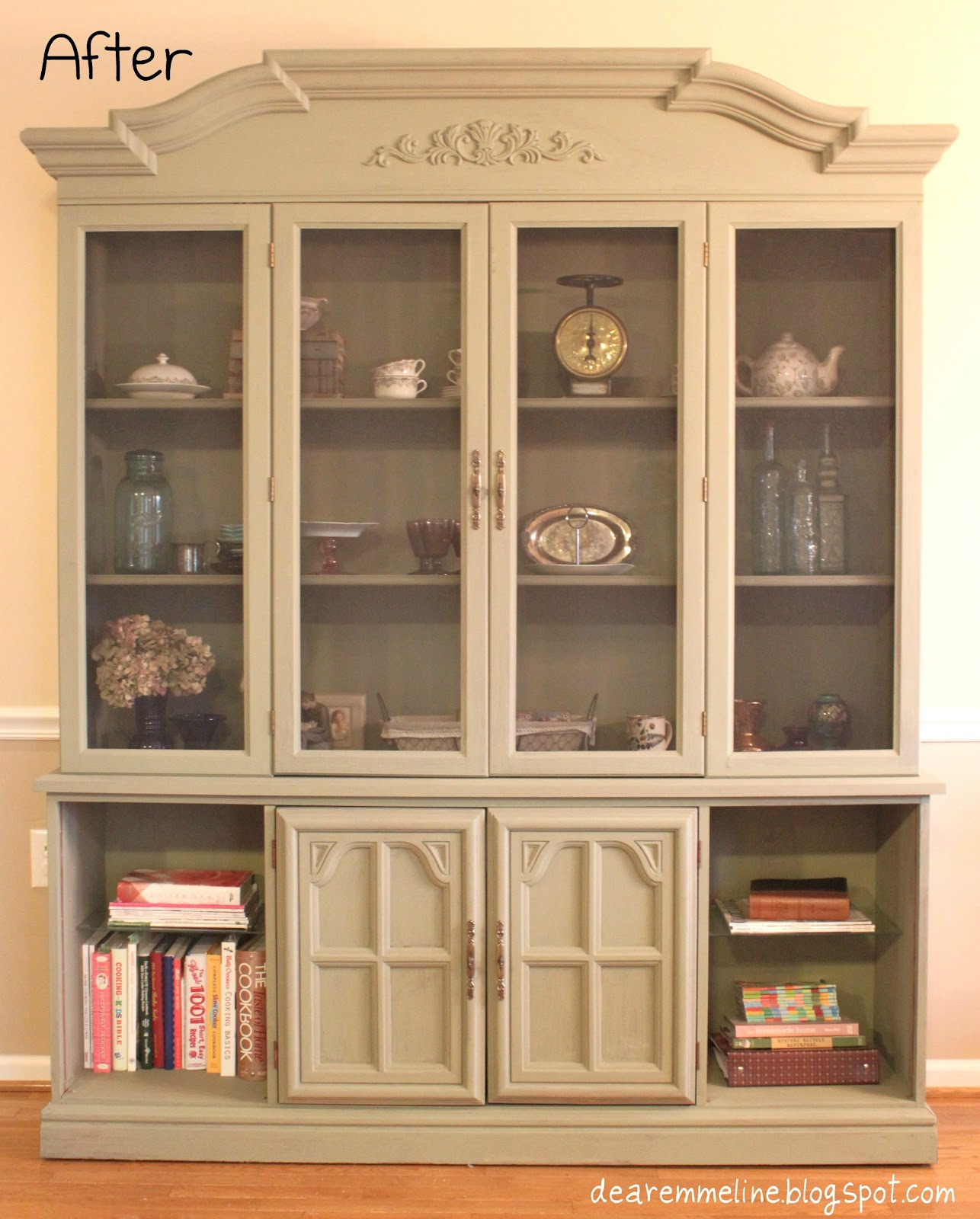 Annie Sloan Chalk Paint China Cabinet