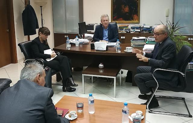 Επίσκεψη του Ιταλού Πρέσβη στην Ηγουμενίτσα