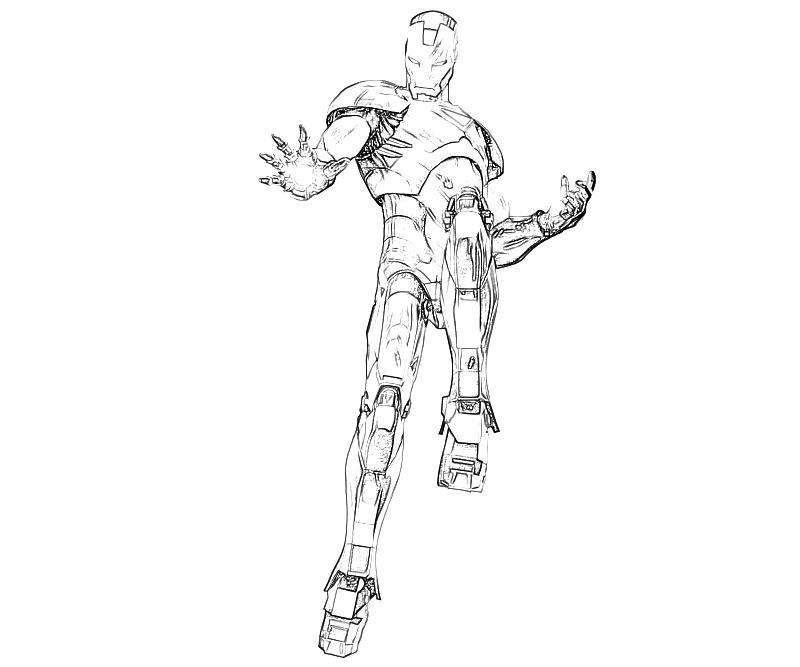 Marvel vs Capcom Iron Man Character Yumiko Fujiwara