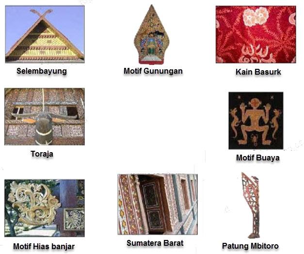 Motif Hias Nusantara