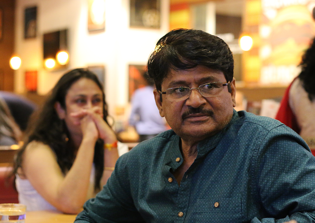THE IMMENSELY TALENTED ACTOR MR. RAGHUBIR YADAV AT 1869 SHORT FILM SCREENIN AT INORBIT MALL, MALAD