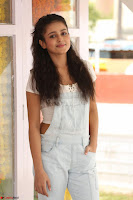 Mishti Chakraborty in lovely Jumpsuit and crop top at Wings Movie Makers Production No 1 movie launch ~  Exclusive 04.JPG