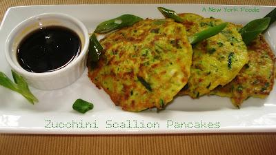 Zucchini Scallion Pancakes
