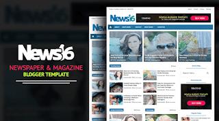 template, berita, majalah